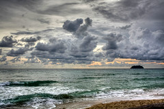 Koh Chang Sunset (HDR) (Nina Glinski) Tags: sunset beach thailand hdr kohchang khochang