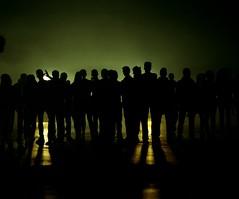 (Benjamin Skanke) Tags: light shadow people green 120 film wet silhouette yellow analog vintage print vinz pentax takumar kodak go gang mob crew shade medium format 24 6x7 envy expired nico portra 800 loud canoscan 67 120mm 105mm c41