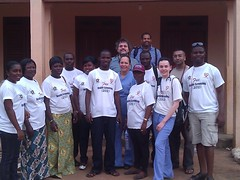 "The screening team at Awutu Senya (Day 2) • <a style=""font-size:0.8em;"" href=""http://www.flickr.com/photos/48668870@N02/6951102694/"" target=""_blank"">View on Flickr</a>"
