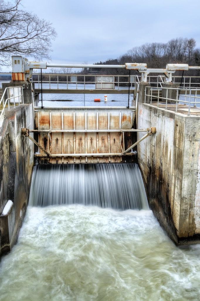 Geddes Dam in Ann Arbor