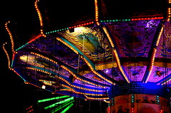 chairoplane (redglobe*) Tags: light colour night germany licht roundabout carousel lux karussell mnster carrusel lumen chairoplane sendmnster