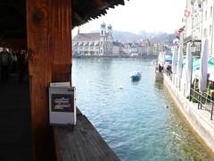 Mia Messer in Luzern #3 (mieze medusa) Tags: luzern kapellbrcke miezemedusa miamesser