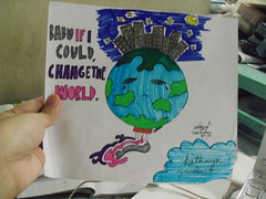 Baby, if I Could Change the World (kathyyuvi) Tags: life inspiration color art love fun earth health research doodles