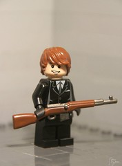 Svt-40 Rifle - [Custom Painted] ([Stijn Oom]) Tags: trooper army lego painted motm legos figure ww2 soldiers ba jd custom build weapons proto paining brickarms svt40 toywiz dutchlego
