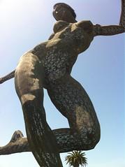 IMG_2647 (Mayu ;P) Tags: sanfrancisco california sky sculpture art lady dance treasureisland dancing outdoor bliss 2012