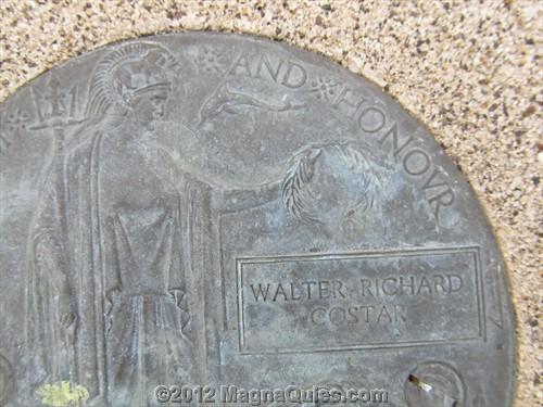 Gunner Walter Richard COSTAR MM  2/2600