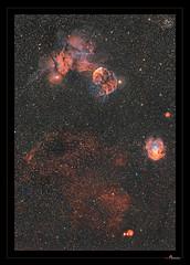 IC443 and NGC 2175 panorama (J-P Metsavainio) Tags: stars nebula astronomy gemini nebulae snr ic443 supernovaremnant spacecosmos starnebulaestarsstarfieldnebulaspaceemissionastronomydiffusecolorfulsharplessgeminingc2175ic443