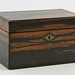 163. Antique Rosewood Tea Caddy