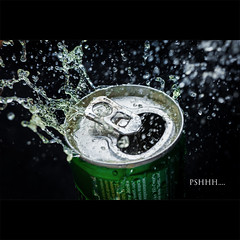 Day Fourteen (Ev.Safronov) Tags: green water 50mm nikon saturday blow 365 splash energydrink adrenalinerush project365 pshh strobist d700 yongnuo yn460 rf602