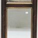 263. Beveled Mirror with Cow Print