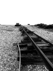 Dungeness Cliche #73 - The Track (Gareth Shapiro) Tags: uk track dungeness effrafc