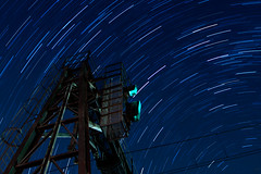 Petersham Station (OzRocky) Tags: night signal startrails