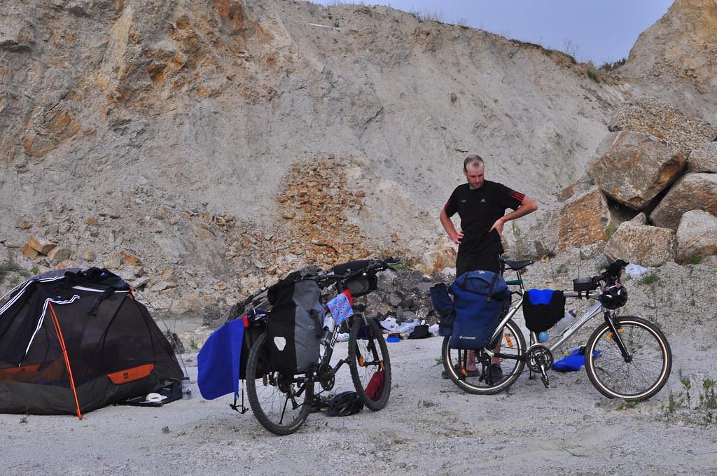 Quarry Camping