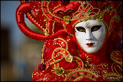 Venice - Carnevale di Venezia | Venice Carnival 2012 (Yen Baet) Tags: venice people italy color festival portraits veneza costume italian colorful europe tourist celebration masks gondola venetian venise venecia venezia venedig sanmarco larva 2012 stmarkssquare sangiorgiomaggiore veneto  volto veneti  carnevaledivenezia dogepalace venicecarnival traveldestination bauta  veneti  mascherari
