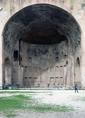 Basilica of Maxentius and Constantine, central bay