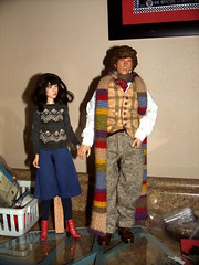 WIP: The Doctor & Sarah Jane (LaSirenofEire) Tags: scale sarah tom baker jane who smith doctor figure fourth 16th elisabeth sladen