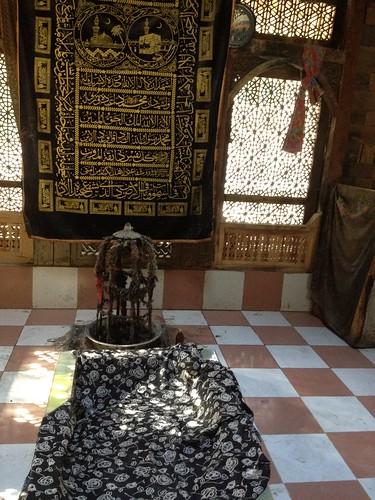 Inside view of Holy Shrine (Astana) of Mir Mukhtar e Akhiyar Pir Nurbakhshia Keris, Baltistan