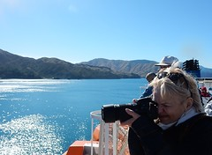 Capturing Beauty (mikecogh) Tags: newzealand beauty spectacular lens landscape coast photographer view serious passengers queencharlottesound