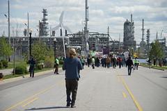 DSC00811 (Break Free Midwest) Tags: march midwest break protest free 350 bp whiting breakfree 350org breakfree2016