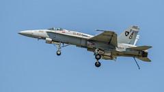 Gladiators - F-18 Hornet-2 (4myrrh1) Tags: canon airplane virginia fighter aircraft aviation airplanes airshow va hornet hampton f18 langley gladiators afb ef100400l 7dii