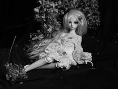 BW dream (Nirmrill) Tags: bw dolls bjd fairyland minifee rheia