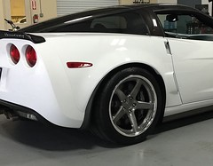 Garett's Hennessey-Powered C6 Corvette ZR1 on Forgeline CF3C Concave Wheels (Forgeline Motorsports) Tags: chevrolet chevy corvette forged c6 madeinusa zr1 forgeline forgedwheels forgelinewheels concavewheel cf3c notjustanotherprettywheel
