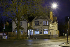 The Bell Inn, Bloxwich 31/01/2016 (Gary S. Crutchley) Tags: street uk travel england urban house black west heritage history public beer bar night dark ed evening town pub inn nikon long exposure raw slow nightscape shot nightshot image time bell britain united country great ale kingdom tavern shutter after local nightphoto nikkor townscape staffordshire westmidlands 28300mm vr afs walsall midlands d800 blackcountry staffs nightimage f3556g hostelry nightphotograph bloxwich walsallweb walsallflickr