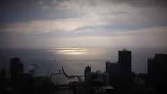 Chapter Three (michael.veltman) Tags: sunlight lake chicago tower clouds illinois looking michigan over east trump residential