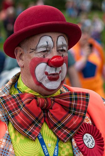 Clowns international parade and picnic