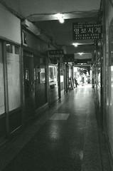 Street Scene - Busan (Shoji Kawabata. a.k.a. strange_ojisan) Tags: street city bw white black film analog 35mm asia cityscape cityscapes delta s korea busan fujifilm 3200 ilford analogphotography bnw klasse eastasia analogphoto filmphotography filmphoto scnen