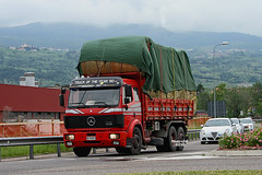 MERCEDES 1935 (marvin 345) Tags: italy truck mercedes italia camion trucks trentino mercedestruck autocarro lavis germantruck trucksentrentin