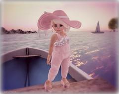 PENUMBRA. Presents... Baby Burp  Day at the Beach (Sami Mae) Tags: secondlife trinket penumbra babyburp wasabipills toddleedoo