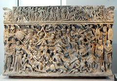 Ancient Rome. Sarcophagus of Portonaccio, 190-200 AD, National Museum of Rome (mike catalonian) Tags: sculpture sarcophagus marble ancientrome portonaccio 2ndcenturyad 190sad