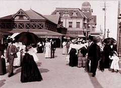Surf  Avenue, Coney Island, 1896 (JFGryphon) Tags: coneyisland 1896