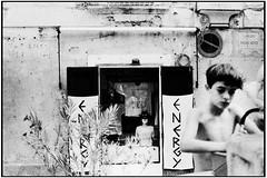 1987 - Tropea (Vibo Valentia) (gennaromignolo) Tags: bw mare calabria vacanze sud tropea vibovalentia tirreno meridione anniottanta centristorici