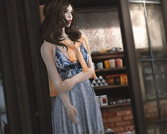 011. Jessa (Jangsungyoung Resident) Tags: secondlife shopping event shinyshabby indyra indyraoriginals magika coco summer dress jessa cardigan hair boho