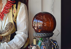 The Zombie Ball (MTSOfan) Tags: zombie storewindow newhope fortuneteller crystalball creepergallery