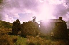 Grove Rake Mine (St Prie) Tags: crossprocessed 35mmfilm vivitarultrawideslim vuws groverakemine rolleicrossbird200