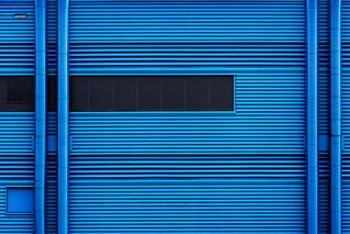 Mono Blue/Abstract