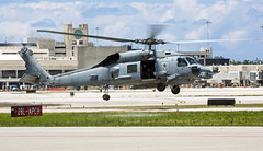 US Navy Seahawk (Steed Images) Tags: florida helicopter usn heli helo sikorsky seahawk pbia