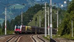 1224_2016_05_22_sterreich_Loifarn_SLB_1216_940_&_CARGO_1216_932_mit_Coilzug_und_CARGO_1216_933_Villach (ruhrpott.sprinter) Tags: world railroad schnee salzburg train germany logo deutschland graffiti austria sterreich diesel outdoor natur group siemens eisenbahn rail zug cargo best berge part 186 record nrw passenger alpen lm fret gelsenkirchen ruhrgebiet freight bb locomotives kv slb 185 189 lokomotive sz sprinter ruhrpott salzburger gter 1216 ekol 6186 1116 6185 6189 tauernbahn lokomotion reisezug schwarzach lokalbahnen kombiverkehr ellok swietelsky 357kmh cargoserv loifarn