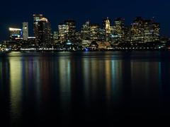 East Boston (12 of 13) (WillySit) Tags: boston eastboston skyline night photography harbor summer summernight