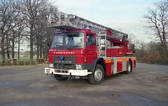 E999 BRB (markkirk85) Tags: fire engine appliance dodge g16 carmichael magirus turntable ladder derbyshire county council service e999 brb e999brb