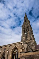 looking up (pamelaadam) Tags: building cathedral liecester engerlandshire kirk liecestercathedral april spring 2016 digital fotolog thebiggestgroup