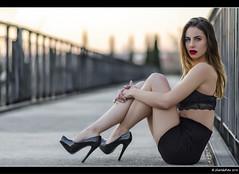 Silvia Gmez - 6/6 (Pogdorica) Tags: sexy chica retrato modelo silvia pasarela sesion morena posado arganzuela