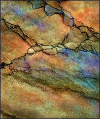 From the painted desert (edenseekr) Tags: photopainting painted rocks