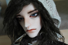 Gil returns! (ronnie_dolls) Tags: asilehbackwards gil aeterno aesthetics bjd doll chateau legit faceup cyril normal pink resin brown wig messy man male tired