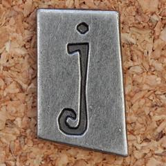 Pewter Ransom Font j (Leo Reynolds) Tags: canon eos iso100 j letter 60mm f8 oneletter jjj letterset lowercase 0ev 025sec 40d hpexif grouponeletter letterpewter letterpewterransom xsquarex xleol30x xratio1x1x xxx2012xxx