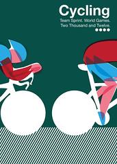 Faux Olympic poster (redux) (imeusdesign) Tags: illustration print poster design graphicdesign graphics retro block illustrator anthonypeters imeus imeusdesign