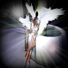 angels (MielleA) Tags: love angel 3d clothing avatar sl angels secondlife